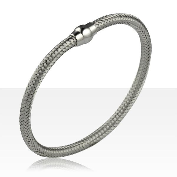 attache bracelet argent