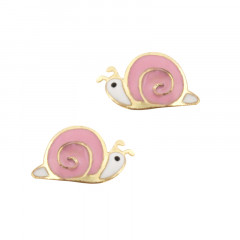 Boucle d oreille escargot Or