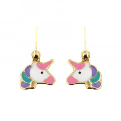 Brisures LICORNE multicolore Or 375°°°
