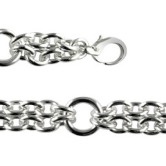 Bracelet Argent ACOTZ 2 rangs