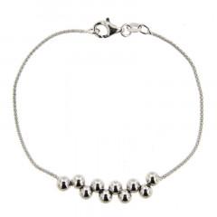 Bracelet Argent BOULE DECALEE