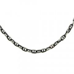 Collier Argent ANTIKA MARINE PER48 - L: 55cm - l: 5mm