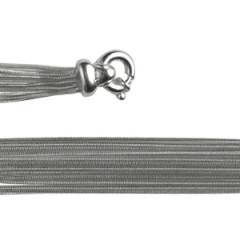 Bracelet Argent QDR25/12 rangs