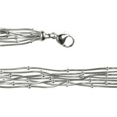 Bracelet Argent QDR25/Boule 7 rangs