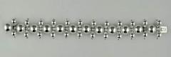 Bracelet Argent 4 BOULES CHARNIERES