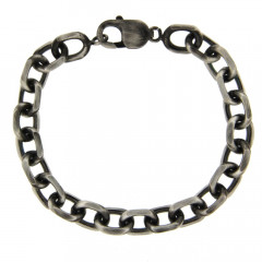 Bracelet Argent ANTIKA FORCAT GM  L: 21,5cm - l: 7mm
