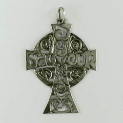 Croix Argent EVANGELISTE