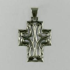 Croix Argent LYS STYLISE