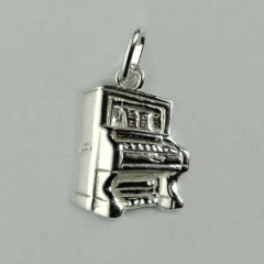 Pendentif Argent PIANO DROIT