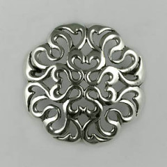 Broche Argent SERPENT RONDE