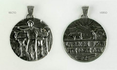 Médaille Argent LABOUREUR
