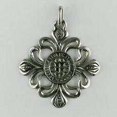 Médaille Argent LYS AJOURE