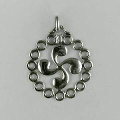 Médaille Argent TREFLE CERCLE