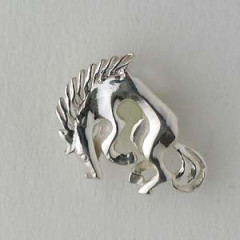 Pin's Argent CHEVAL RODEO PM