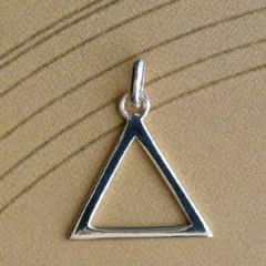 Triangle Argent EVIDE Z87