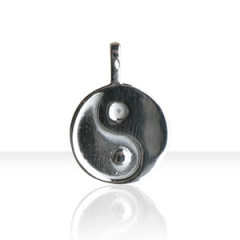 Pendentif Argent YING YANG MM 35