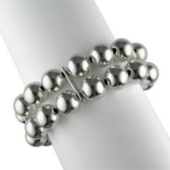 Bracelet Argent EXTENS BOULES D12-2 RANGS