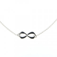 Collier Argent INFINI MM