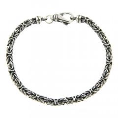 Bracelet Argent BYZANTINE Ronde 4,5 L: 21cm