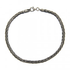 Bracelet Argent GRAPHIT Palmier 21cm