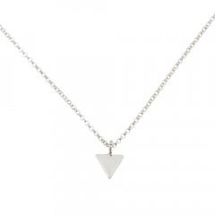 Collier Argent Triangle uni 40cm