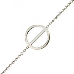 Bracelet Argent ROND Traverse 16+2cm