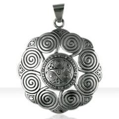 """Médaille Argent SPIRALES """"Un amour solide..."""""""