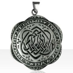"""Médaille Argent """"Laissons les unis pour toujours"""""""