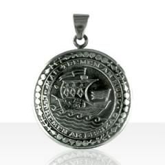 """Médaille Argent """"Partout où le soleil passe..."""""""