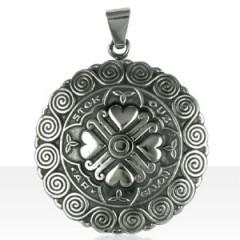 "Médaille Argent COEUR ""Az Etok ouz"""