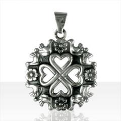 Médaille Argent COEURS/OISEAUX