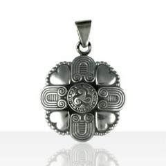 Médaille Argent TRISKELL COEUR/HIBOU
