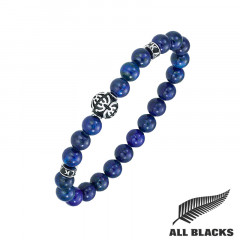 Bracelet TIBETAIN LAPIS LAZULI ALL BLACKS