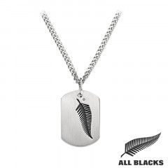 Collier PLAQUE GI ALL BLACKS