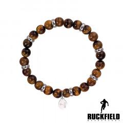 Bracelet PERLE OEIL DE TIGRE RUCKFIELD