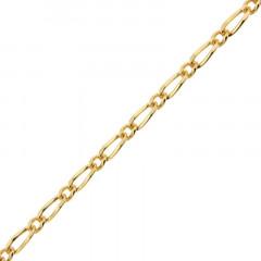 Chaine Plaqué Or Alternée 080 -1/1 - 50cm