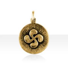 Médaille Plaqué Or STRIEE CB PLEINE