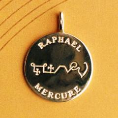 Pantacle Plaqué Or DE MERCURE 61