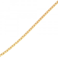 Collier Plaqué Or FORCAT L70-40CM