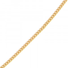 Chaine Plaqué Or GL70(2,3mm)-55CM