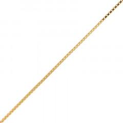 Chaine Plaqué Or VENITIENNE 37 (1mm)- 40cm