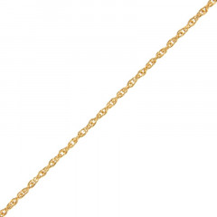 Collier Plaqué Or CORDE 30-45CM