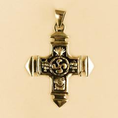Croix Plaqué Or ST JEAN PIED DE PORT