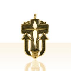 Croix Plaqué Or DES MARINS