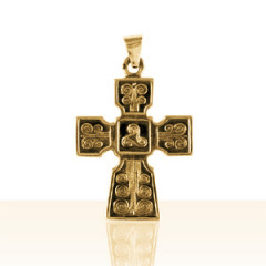 Croix Plaqué Or TRISKELL