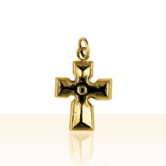 Croix Plaqué Or CELTIQUE MASSIVE