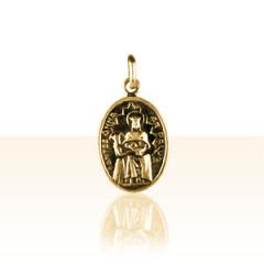 Médaille Plaqué Or STE ANNE DE LA PALUD