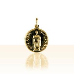 Médaille Plaqué Or ST RONAN