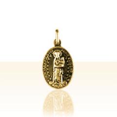 Médaille Plaqué Or NOTRE DAME DE FOLGOET