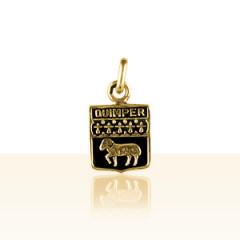 Médaille Plaqué Or ECUSSON DE QUIMPER